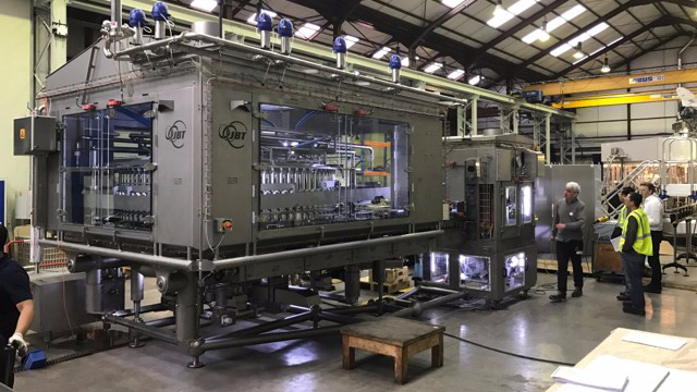 JBT High Capacity Unifiller - Belgium